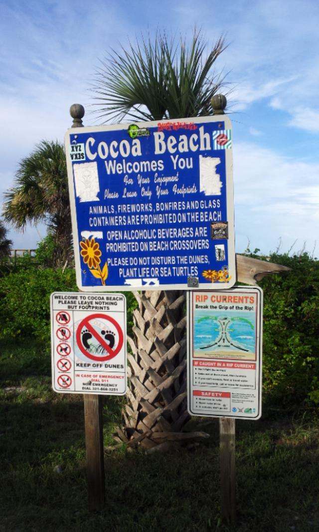 COCOA Beach@フロリダ