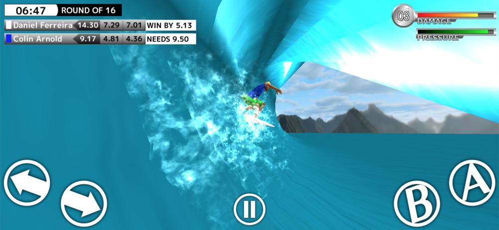 サーフィンゲームアプリ